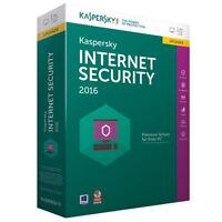 Kaspersky Labs Internet Security 2016 Update 1 Pc/1jahr Windows7/8/10 Antivirus
