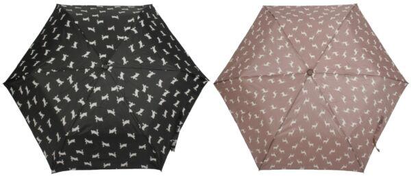Designer-ombrello Jean Paul Gaultier vernice Trasparente corsetto NUOVO Nero