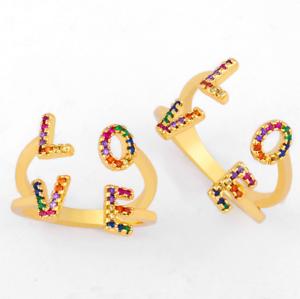 Fashion Vintage Women/'s Garnet Ring 14K Yellow Gold Filled Gemstone Jewelry 8#