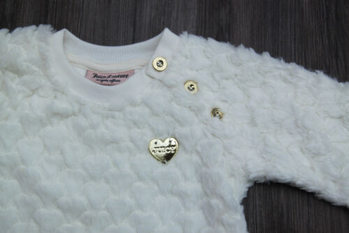 c547bd65f JUICY COUTURE BABY Girl Long Sleeve Faux Fur Top   Tuxedo Legging ...