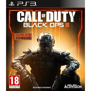 CALL OF DUTTY BLACK OPS 3+BLACK OPS 1, PS3 (PLAYSTATION 3) CASTELLANO (NO DISCO)