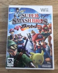 Super Smash Bros. Brawl Nintendo Wii Reino Unido PAL