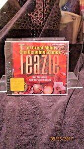 Teazle-CD-Rom-computer-Software-New-Sealed-Win-95-98-MAC-1999