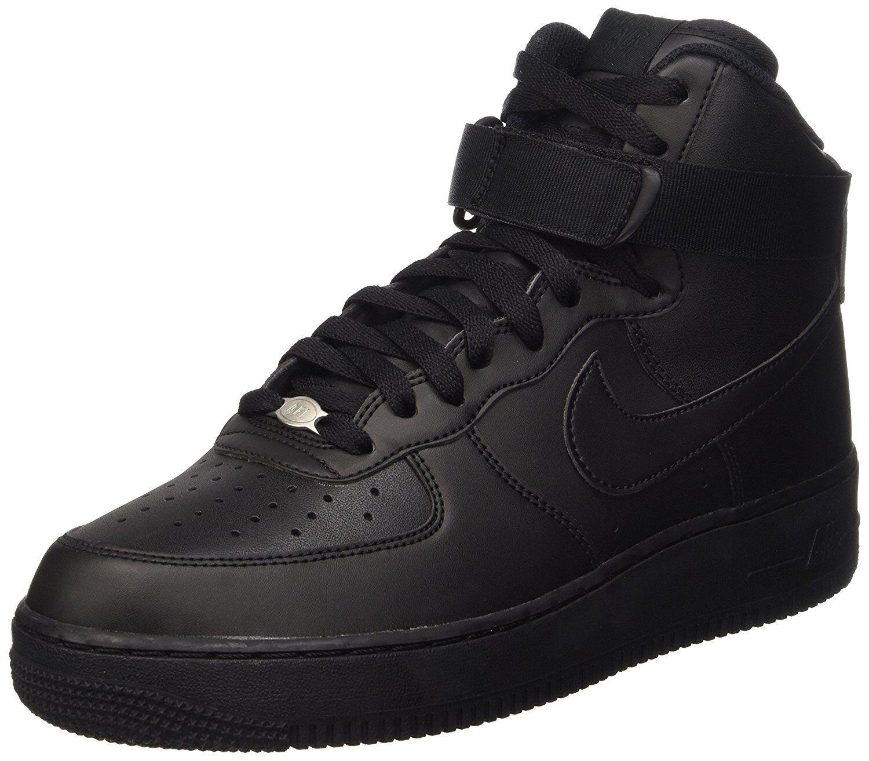 Nike Para Hombre Air Force Calzado 1 de alto 07 Calzado Force De Baloncesto Negro 315121032 2af9a7