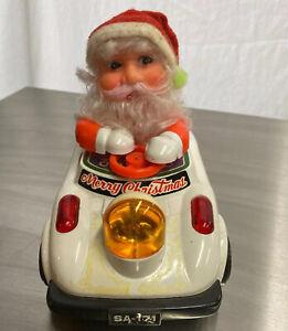 1983-Son-Ai-Toys-Bump-amp-Go-Lighted-Musical-Psycho-Santa-Claus-Driving-Bumper-Car