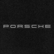 911 997 Cabriolet 2005-2012 2Pc Car Floor Mats Carpet Black Ultimat Porsche Logo