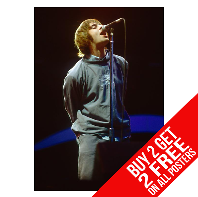 BUY 2 GET ANY 2 FREE OASIS MAINE ROAD POSTER LIAM NOEL GALLAGHER A4 A3 SIZE