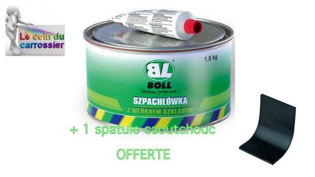 BOLL - 1 boite de mastic fibre de verre 1,8kg + durcisseur