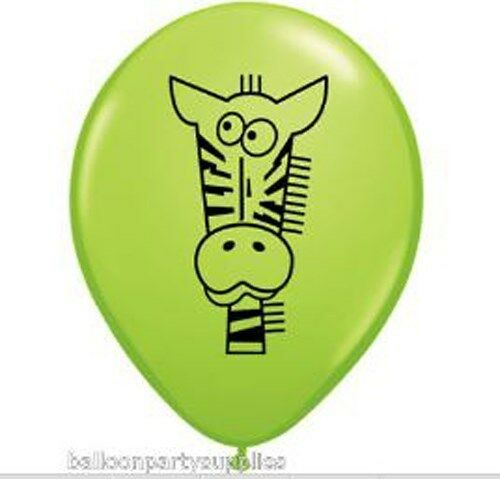"10 x 11 /""Qualité Hélium Ballons Jungle Animal"