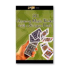 101 tricks with Stripper deck Card book - Magic INCLUDES BICYCLE Stripper Deck