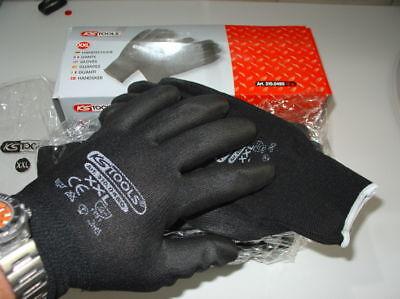 1 Boite de 12 paires gants de travail KStools Noir taille  XXL