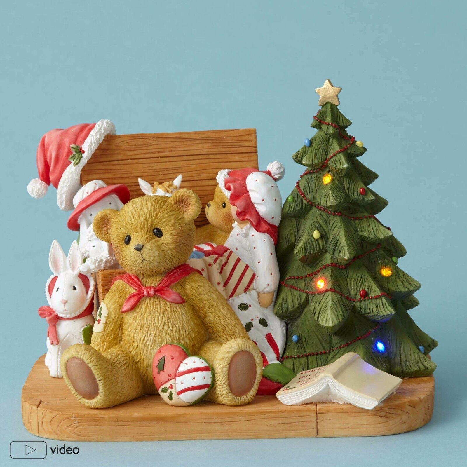 Cherished Teddies~CHRISTOPHER~MUSICAL~Limited to 600 Pieces~2016~FREE SHIP