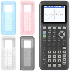 For Texas Instruments TI-84 Plus CE Graphing Calculator Silicone Case Cover Skin