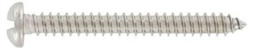 Art. 9130 Halbrundkopf-Sicherheitsschrauben Form C Einweg-Antrieb Edelstahl A2