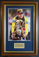 Cadel Evans Signed Framed Tour De France Memorabilia