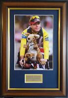 Cadel Evans Signed Framed Tour De France Memorabilia