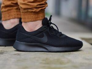 f33206985a Nike Men's TANJUN COURT BOROUGH LOW Trainers Running Gym Shoes Black ...