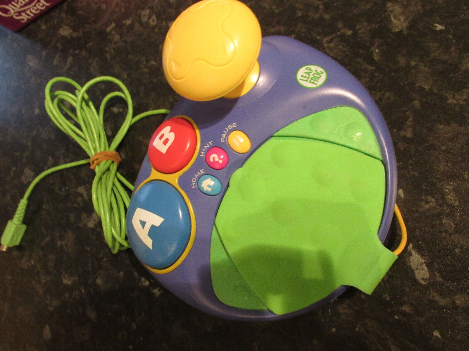 LEAP FROG LEAPSTER TV GAME CONTROLLER TV LEARNING SYSTEM