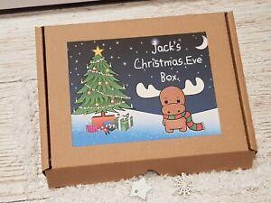 Vigilia-di-Natale-Box-riempito-A5-Babbo-Natale-Lettera-Magic-Key-amp-Cibo-Biologico-Renna