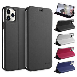 FlipCase-iPhone-11-Pro-Max-6-5-Etui-Magnet-Cover-Aufstellbar-Staender-Huelle-Folie