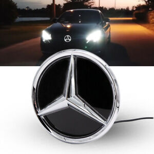 Car Led Front Star Badge Emblem Grille Light Glow For Benz New E Class W213