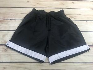 S-A-Gear-Boys-Youth-Size-XS-Black-White-Shorts-Elastic-Waist-Drawstring-Active