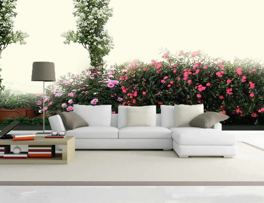 3D Flowers 4037 Wallpaper Murals Wall Print Wallpaper Mural AJ WALL AU Kyra