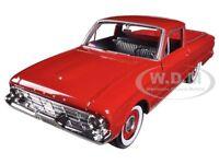 1960 Ford Falcon Ranchero Pickup Red 1/24 Diecast Car Model Motormax 79321