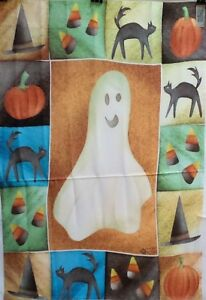 "Ghost Halloween Standard House Flag by Toland 24"" x 36"", #1006, Haunting"