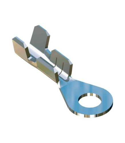 Eyelet terminal Hole 3.2 section 0,50-1,50 tin-plated brass