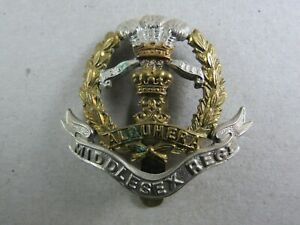 Military-Cap-Badge-The-Middlesex-Regiment-British-Army-Infantry