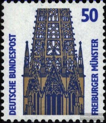Brd (br.deutschland) 1340a Ri Mit Zählnummer Postfrisch 1987 Sehenswürdigkeiten Schrecklicher Wert