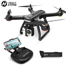 Piedra sagrada HS700 FPV GPS RC Drone con Cámara 1080P HD Wi-fi Sin Cepillo Cuadricóptero