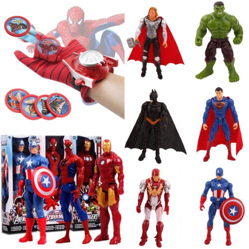 Spiderman Captain America Marvel Avengers Superhero Action Figures Boys Gift Toy