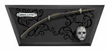 Harry Potter Bellatrix LeStrange Wand And Mini Mask On Display Noble collection