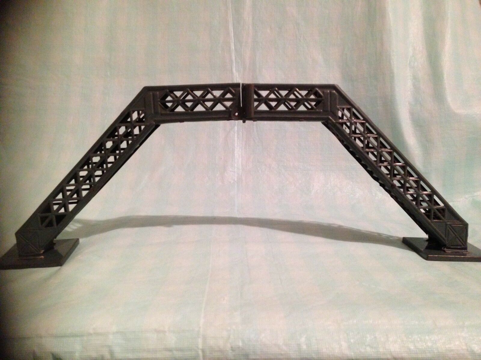 Bing Folding Lattice Work Footbridge O Gauge 1920s  Rare