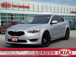 2016 Kia Cadenza 4dr Sdn Tech/LEATHER/NAVIGATION/REAR CAMERA!