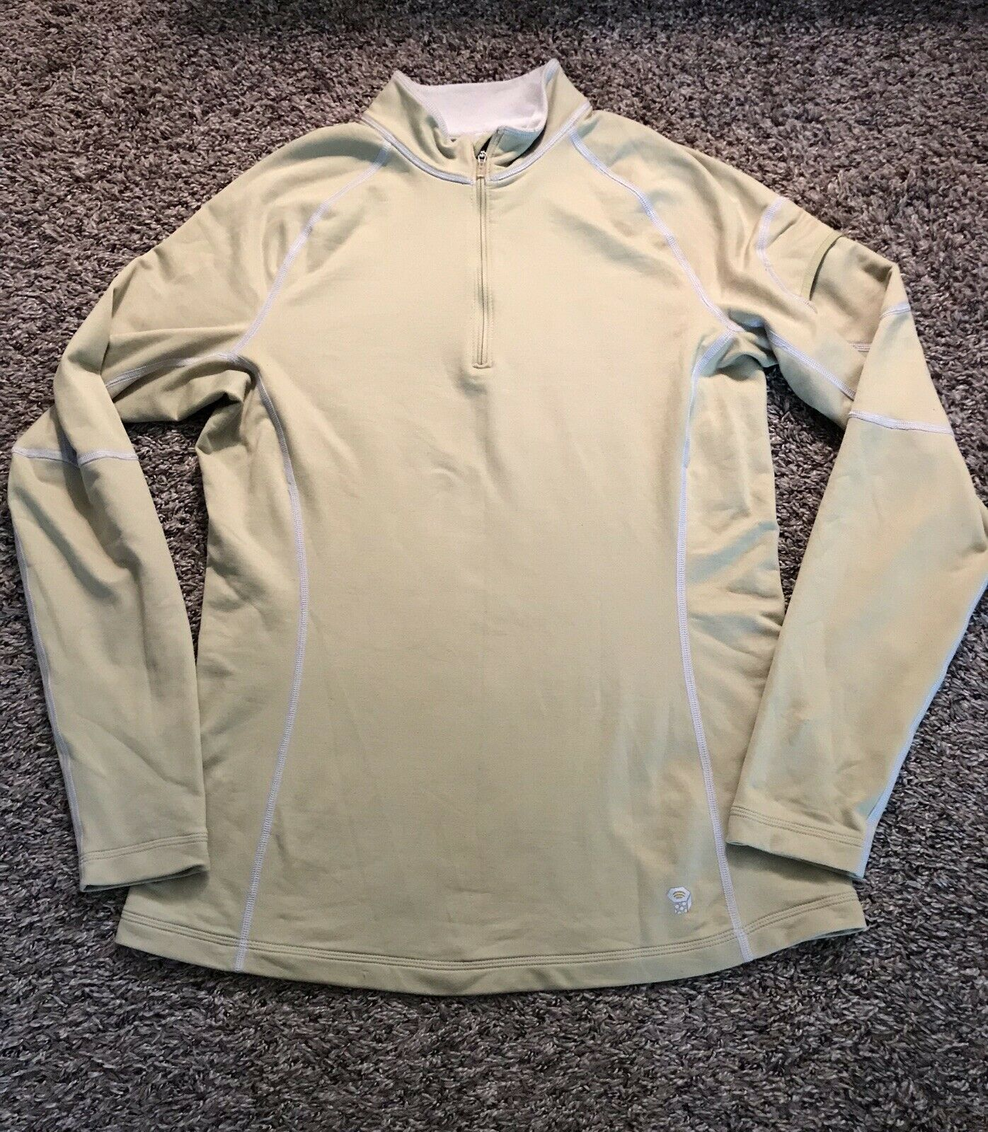 Mountain Hardwear 1/4 Zip Stretchy Pullover Size L