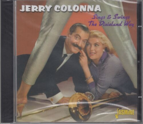 """1 of 1 - Jerry Colonna """"Sings & Swings The Dixieland Way"""" NEW & SEALED CD 1st Class Post"""