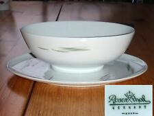 ROSENTHAL Form E Sauciere - Raymond Loewy Dekor Silvana 50er oval Schale