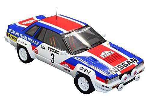 Aoshima Bunka Kyozai 1 24 BEEMAX series No.7 Nissan 240RS 1983 New Zealand Rally