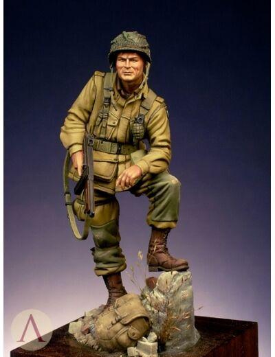 Scale 75 Lt Winters US Army WW2 75mm Unpainted Kit