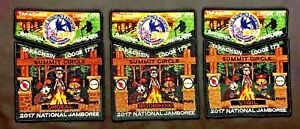 TAKACHSIN-OA-LODGE-173-SAGAMORE-2017-JAMBOREE-6-PATCH-GARFIELD-OBV-SET-100-MADE
