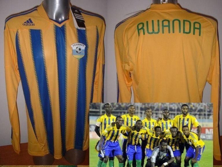 Rwanda ADIDAS Jersey Top Shirt Soccer Adult Large Trikot Africa Maglia BNWT New
