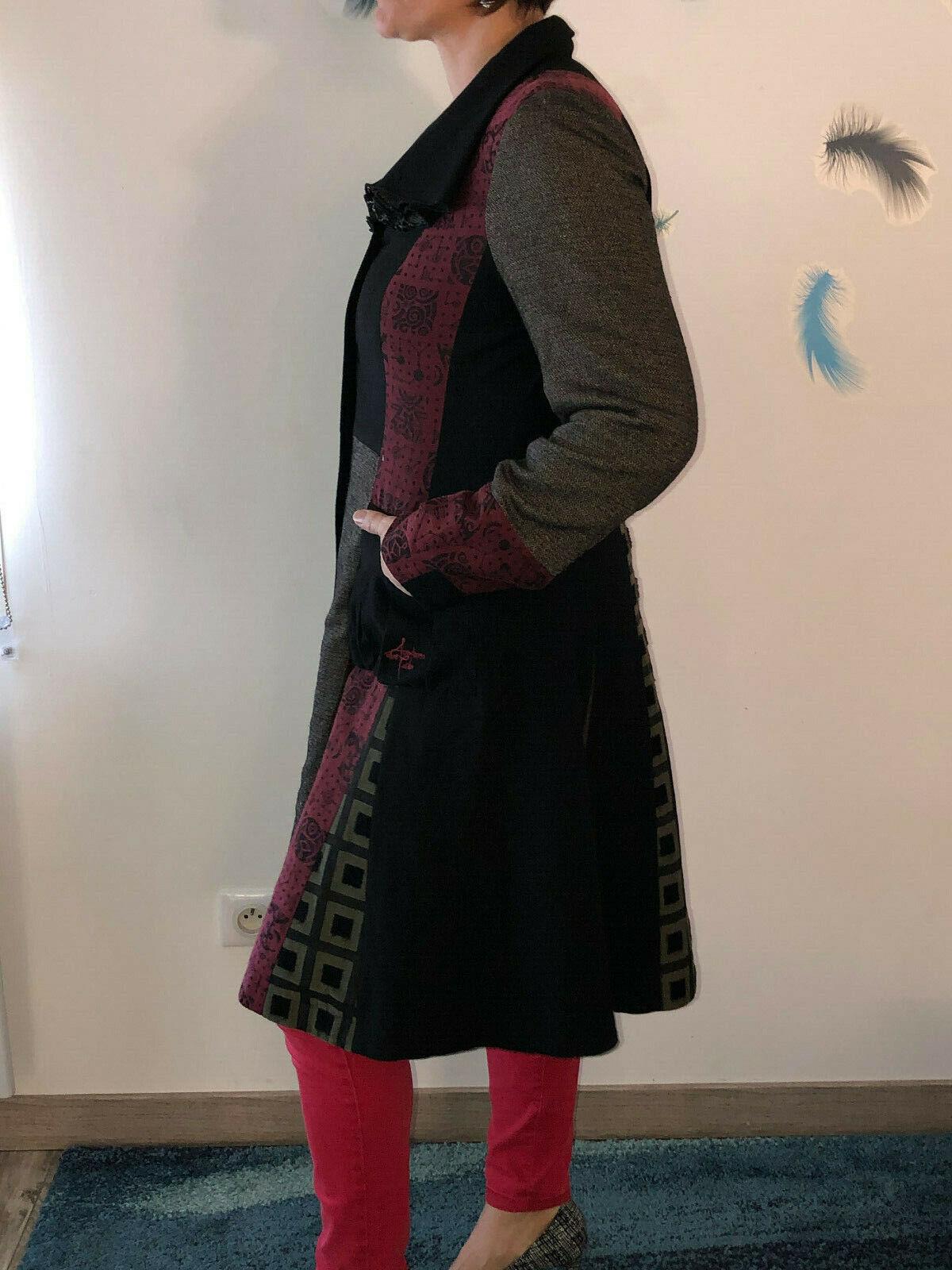 Pretty Coat Patchwork aventures des toiles Size 4… - image 2