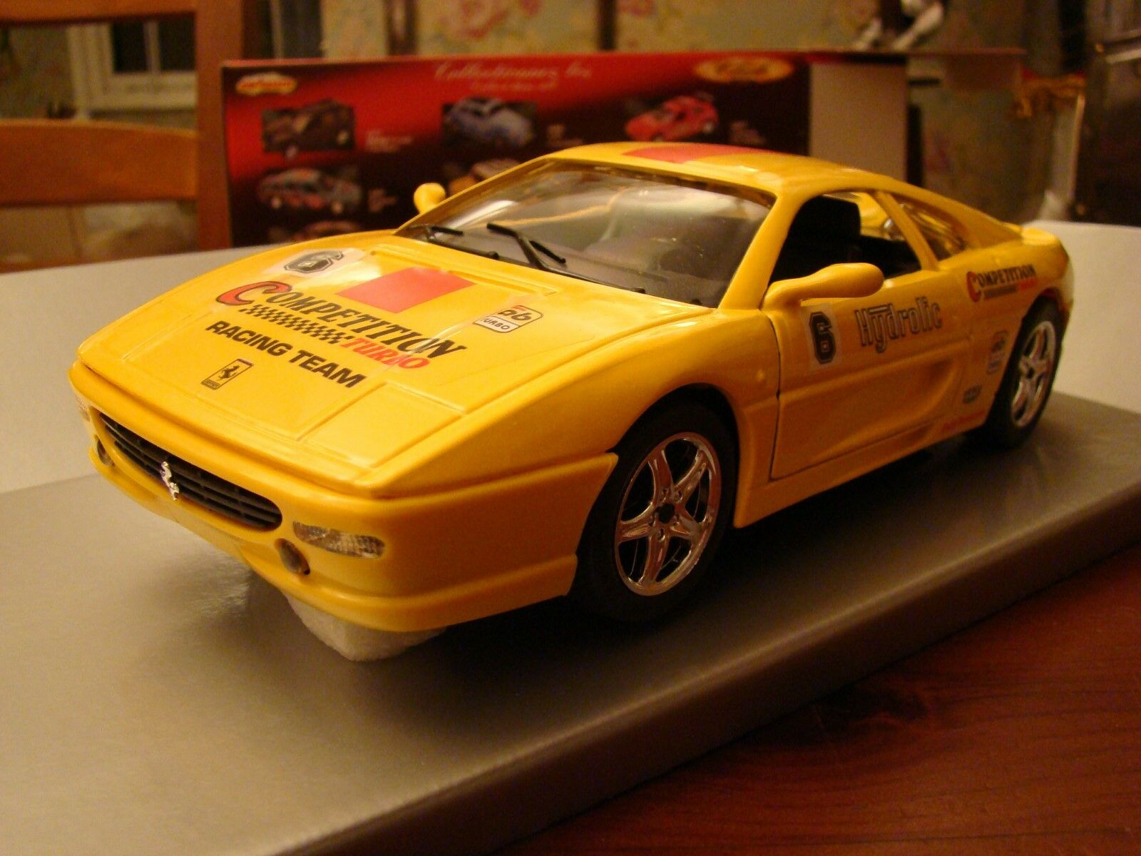 1 18 Ferrari F355 V8 Challenge Racing Version Hydrolic Competition 355 458 488