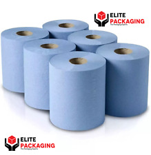 CENTREFEED DISPENSER BLUE ROLL PAPER HAND TOWEL TISSUE GYM WALL MOUNTED LOCKABLE