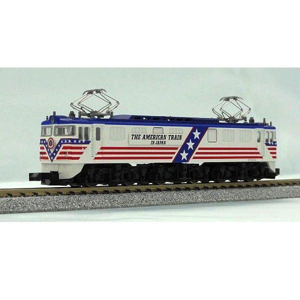 Kato American Train Electric Locomotive EF6019 The American Train in Japan  N
