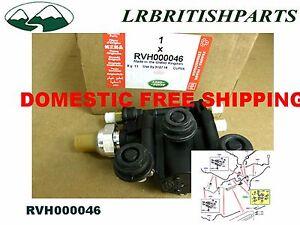 Bloque de válvula de depósito de suspensión de aire RVH000046 Dirección y suspensión