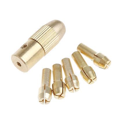 2.3mm+5Pcs 0.5-3.0mm MICRO TWIST Perceuse à main Chuck Electric Drill Bit Collet NEUF